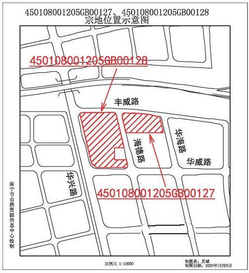 南宁保税区出让一块商住用地 180多亩总价约19亿